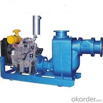 Diesel Engine Self Priming Sewage Water Pump (SW&SWH)
