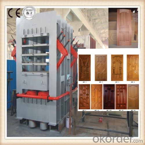 Melamine Door Compressing Device Made in China