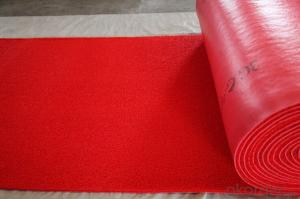 PVC Coil Cushion Mat / PVC Floor Mat / Anti-slip Flooring