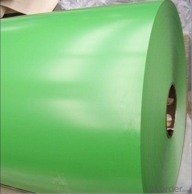 Prepainted aluminum coil with PVC Film AA3105/3003