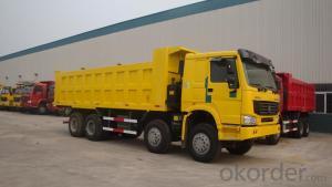 DUMP TRUCK HOWO 8x4  336HP/247KW/EURO2