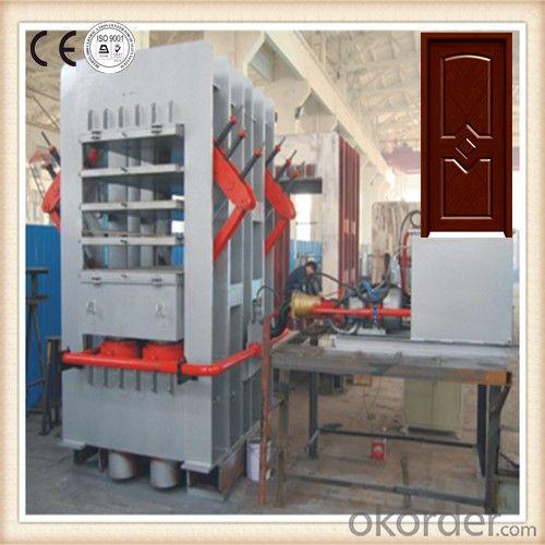 Wooden Moulded Door Laminate Hot Press Machine