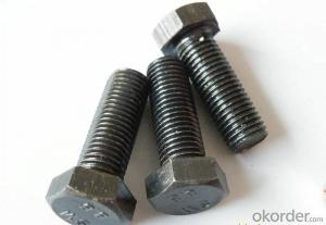 Bolt HALF THREAD M6*100 HEX Made in China