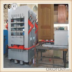 Multi-layer Melamine Wood Door Press Machine