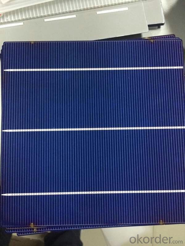 POLY SOLAR CELLS 16.8% ---CNBM MADE IN CHINA ,LOW PRICE