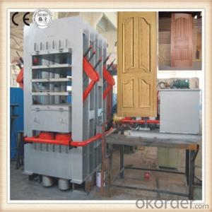 Multi layer Melamine Door Skin Press Machinery
