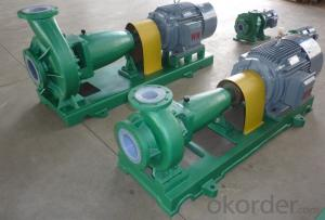 IH Centrifugal Chemical Pump for Waste Water Treatment