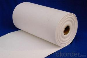 Heat Resitant Material High electric insulation Ceramic Fiber Paper