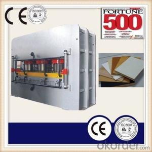 Wood Working Melamine MDF Hot Press Machinery