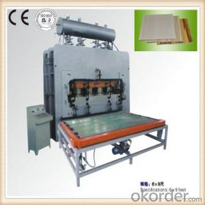 Furniture Plate Forming Hot Press Machine
