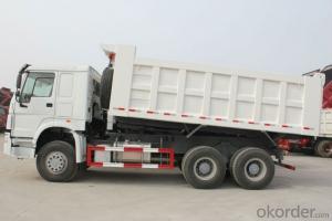 Rear Dumper Truck HOWO 6*4 Hydraulic Cylinder Dump Truck