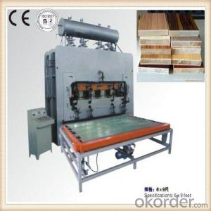 One Layer Hot Press Machine Made in China