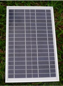 Factory Directly Sell Mono Cystalline Solar Panel from 3W to 300W Solar Module