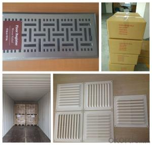 ABS /PP/ PVC Plastic Air Diffusing Grille for Construction or building