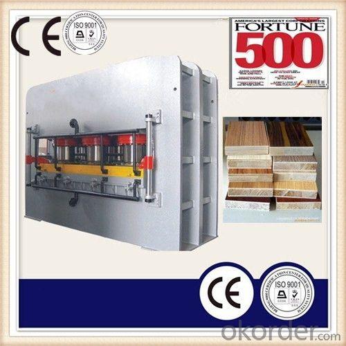 CE Hydraulic Wood Working Heat Press Machinery