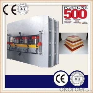 Laminating Furniture Board Hot Press Machine