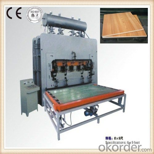 NYJ-1600T Furniture Board Making Machine Melamine