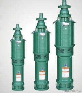 Oil-Filled Multistage Submersible Pump for Clean Water (QY Series)