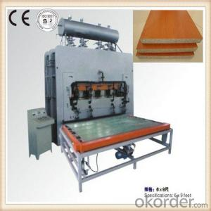 Hydraulic Laminating Hot Press Machinery for Wood