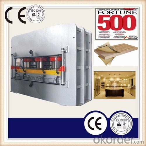 Melamine MDF Laminated Hot Press Machine