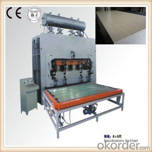 Wood Veneer Vacuum Hot Press Machine Made in China