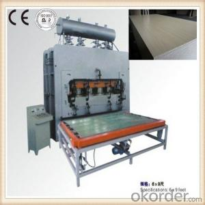 Wood Veneer Vacuum Hot Press Machine Made in China