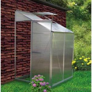 Greenhouse with 4mm Polycarbonate and Alluminunm Alloy Structure