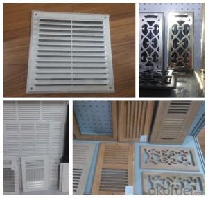 Floor Register Used for Floor Ventilation 110m Good Quality