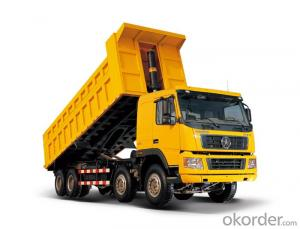Dump Truck 32cbm 50t 60t HOWO 8X4 Heavy Side