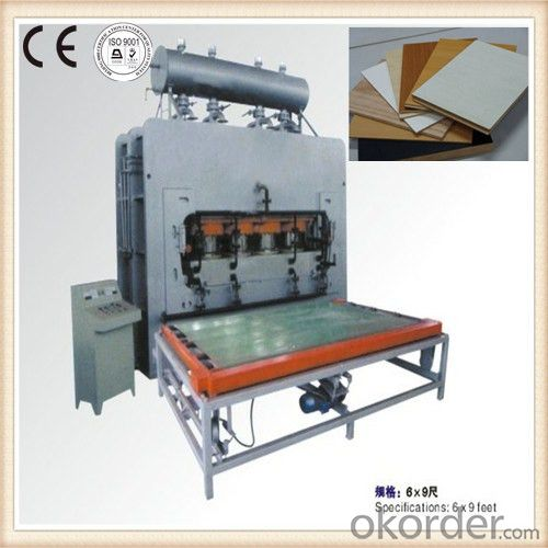 High Speed Laminatings Hot Press Machine