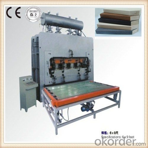 HPL Laminate Veneers Hot Press Machinery