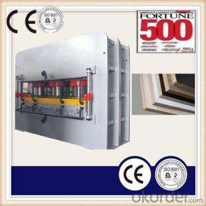 Furniture Laminated MDF Board Hot Press Machine