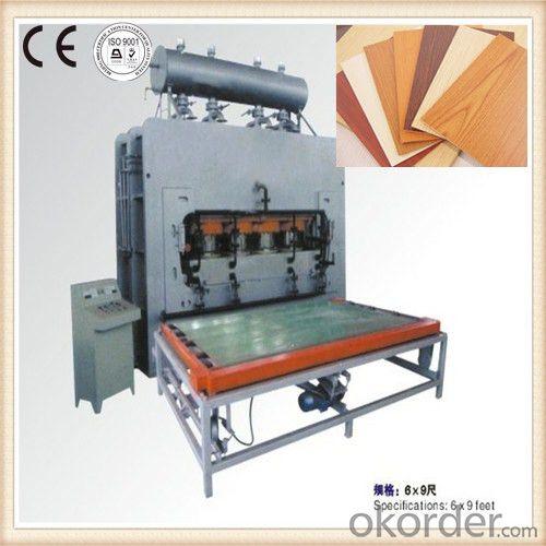 Furniture Manufacturing Hot Press Equipment
