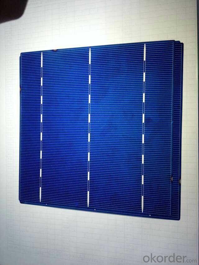 Poly 3 Busbar Solar Cells Four Busbar With Lower Price B Grade
