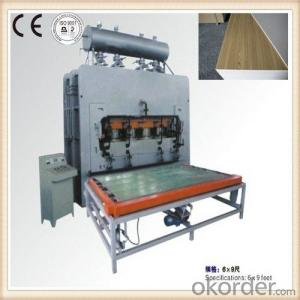 Wood Furniture Skin Veneering Machine Made in China