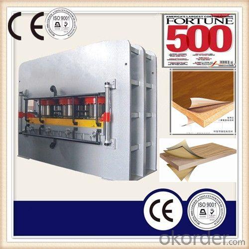 Veneer Board Short Cycle Hot Press Machine