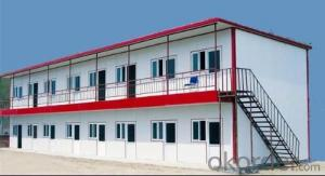 Economical Sandwich House for Construction Location