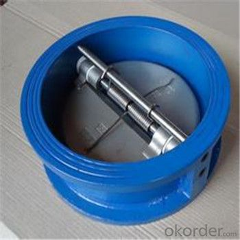 Wafer Check Valve_Duo Check Valve-PN10/PN16