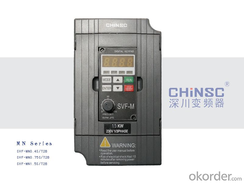 MINI Series 220v from 0.4kw to 3.7 kw  Frequency Inverter