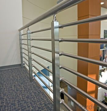 L20C Stainless Steel Stanchion Tubular Steel Railing