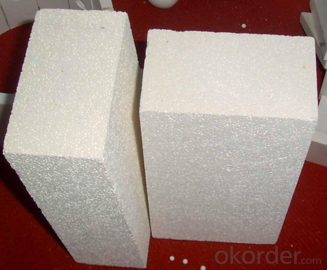 Refractory mullite insulating refractory brick JM 89