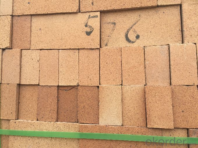 Fireclay Brick with Al2O3 Content around 35%