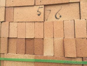Fireclay Brick with Al2O3 Content around 40%