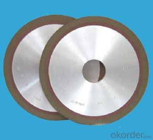 Abrasive Tools/ Flat Vitrified bond diamond grinding wheel for hard material machining