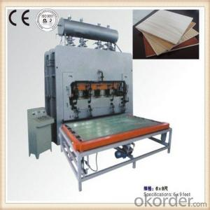 Hydraulic Furniture Board Forming Machine