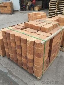 Fireclay Brick with Al2O3 Content around 38%