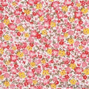 Microfiber Polyester Twill/Brushed Style Textiles Fabric for Home Textile/Flower Designs