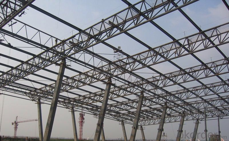 Steel Structure Workshop Warehouse With  High Quality