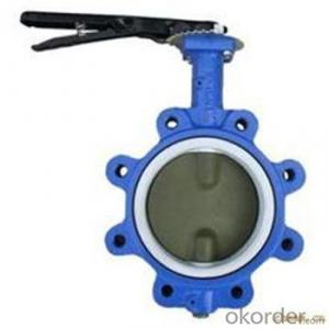 DN40-1200 PN10/16 Wafer and Lug, U and Flanged Butterfly Valve/Mariposa Valvula