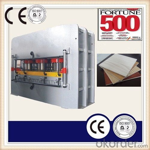 Furniture Board Hydraulic Hot Press Machinery